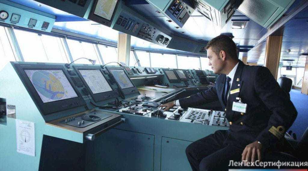 сертификат морского регистра, оборудование